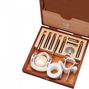 Экстендер для увеличения члена Jes-Extender Original, ремешковый, деревянный футляр для хранения