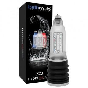 Гидропомпа Bathmate Hydromax 5 Clear (X20), для члена длиной от 7,5 до 12,5см, диаметр до 4,5см