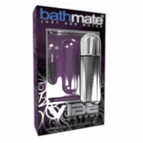 Вибропуля Bathmate Vibe Bullet Chrome, глубокая мощная вибрация