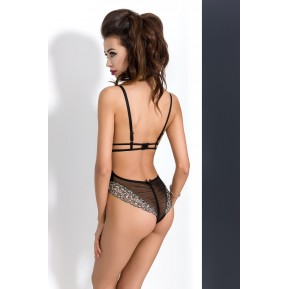 Эротический боди MONTANA BODY Black L/XL - Passion Exclusive
