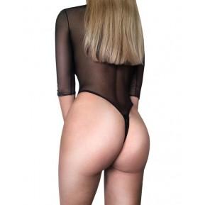 Сексуальное боди-сетка с открытой попкой AGATHA D&A размер XS/S