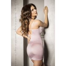 Сорочка приталенная с чашечками SHANTI CHEMISE Pink L/XL - Passion Exc...