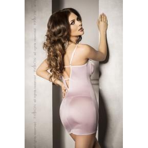Сорочка приталенная с чашечками SHANTI CHEMISE Pink L/XL - Passion Exclusive, трусики
