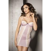 Сорочка приталенная с чашечками SHANTI CHEMISE Pink S/M - Passion Excl...