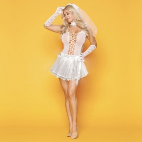 Эротическое свадебное платье JSY Развратница Сюзанна S/M