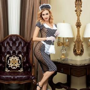 Эротический костюм горничной JSY Скромница Катрин S/M
