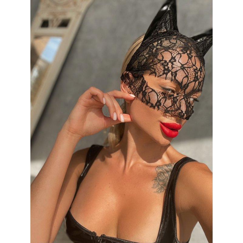 "Кружевная маска ""Кошка"""