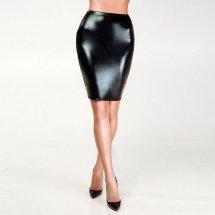 """Эротическая юбка под латекс с прозрачной сеткой сзади """"Развратная Анже..."""