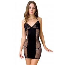 Платье-сетка Anne De Ales Dernier Tango Black XL