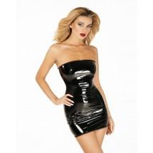 """Эротическое платье лакированное D&A """"Соблазнительница Марго"""" XS/S, мол..."""