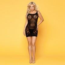 Эротическое полупрозрачное платье JSY с рисунком Лори S/M