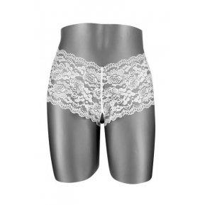 Эротические женские трусики с доступом Fashion Secret JULIA White