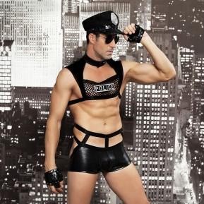 Мужской эротический костюм JSY полицейского