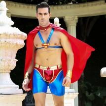 Мужской эротический костюм супермена JSY