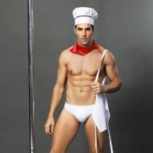 Мужской эротический костюм JSY повара