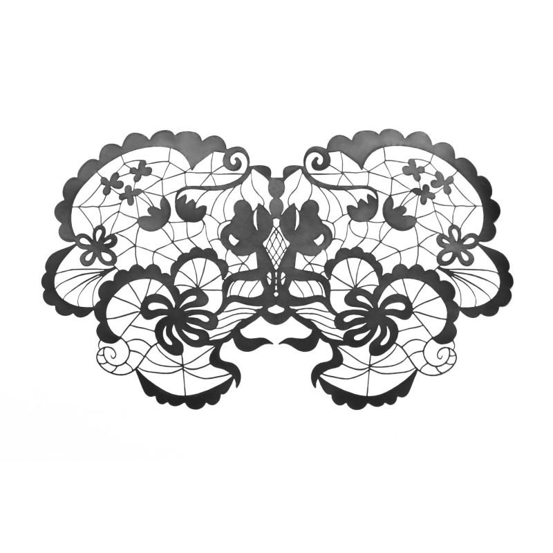 Маска на лицо Bijoux Indiscrets - Anna Mask, виниловая, клеевое крепление, без завязок