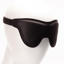 Маска на глаза Pornhub Faux Leather Mask экокожа, черная, очень комфор...