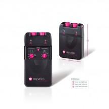 Электростимулятор Mystim Pure Vibes, 2 канала, 3 программы, механическ...