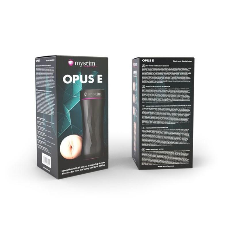 Мастурбатор вагина Mystim Opus E Vagina для электростимулятора