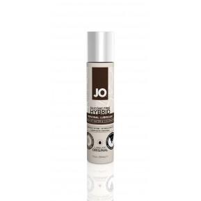 Крем-смазка с кокосовым маслом System JO Silicone Free Hybrid ORIGINAL (30 мл) белая