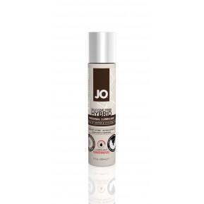 Разогревающая крем-смазка с кокосовым маслом System JO Silicone Free Hybrid WARMING (30 мл) белая