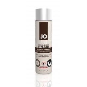 Разогревающая крем-смазка с кокосовым маслом System JO Silicone Free Hybrid WARMING (120 мл) белая