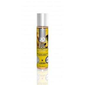 Смазка на водной основе System JO H2O - Banana Lick (30 мл) без сахара, растительный глицерин