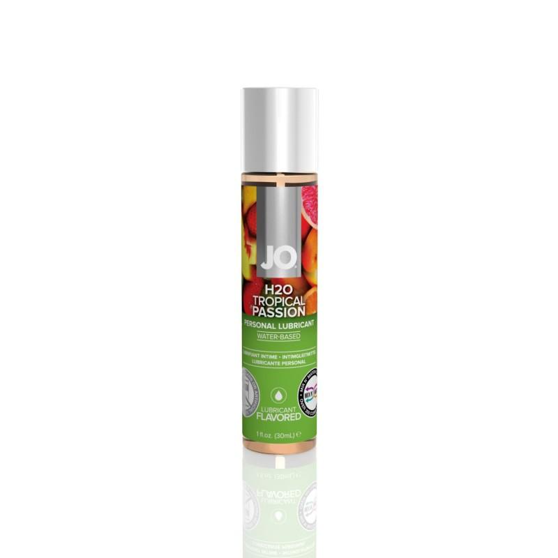 Смазка на водной основе System JO H2O - Tropical Passion (30 мл) без сахара, растительный глицерин