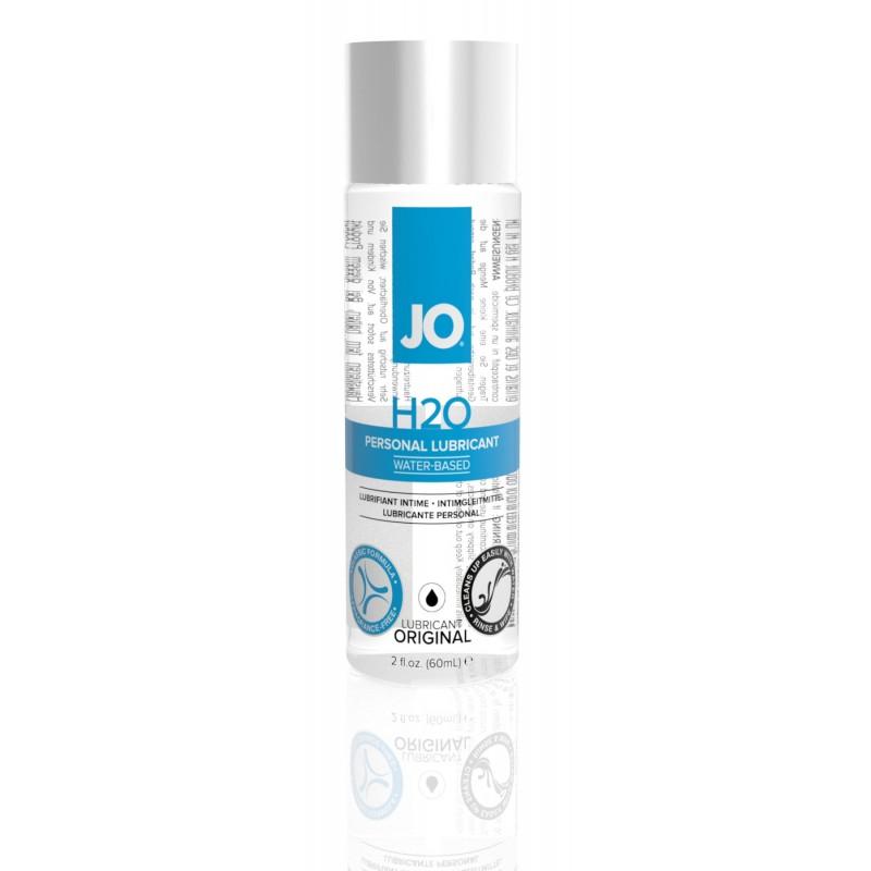 Смазка на водной основе System JO H2O ORIGINAL (60 мл) маслянистая и гладкая, растительный глицерин