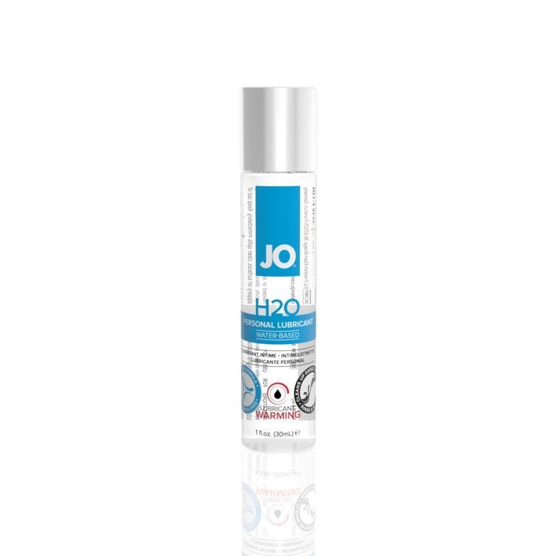 Согревающая смазка на водной основе System JO H2O WARMING (30мл) с экстрактом  перечной мяты