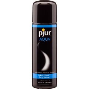 Лубрикант на водной основе Pjur Aqua 30 мл, эффект бархатистой кожи без прилипания