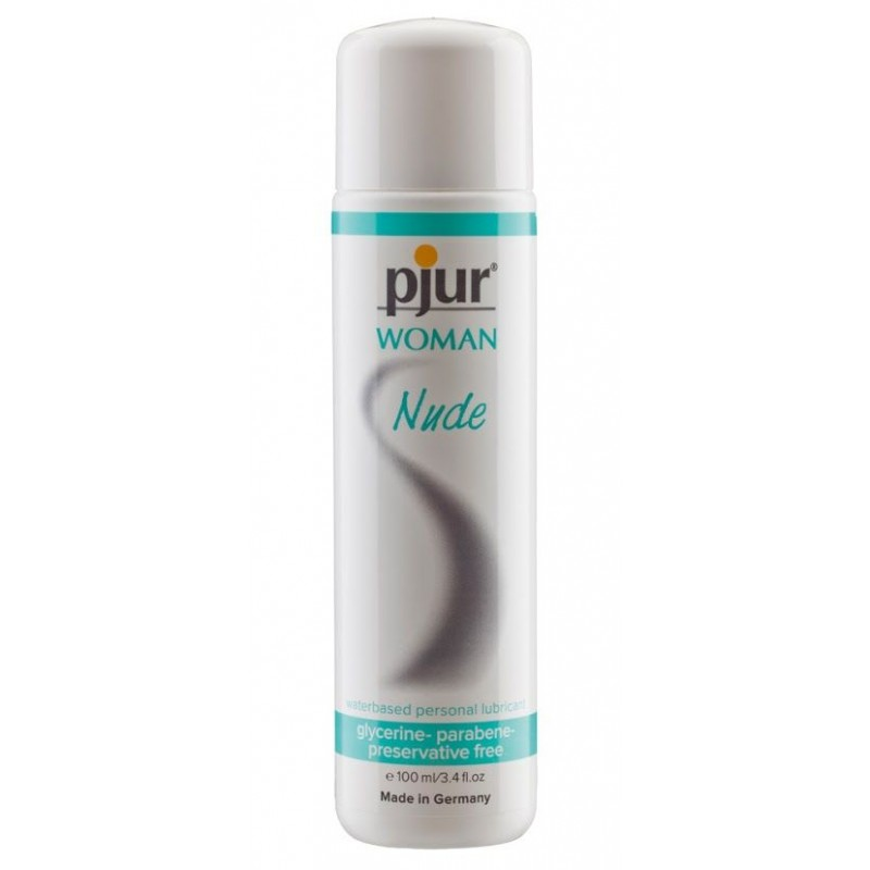 Смазка на водной основе Pjur Woman Nude 100 мл без консервантов, парабенов, глицерина