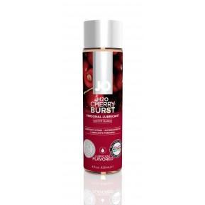 Смазка на водной основе System JO H2O - Cherry Burst (120 мл) без сахара, растительный глицерин