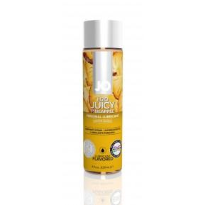 Смазка на водной основе System JO H2O - Juicy Pineapple (120 мл) без сахара, растительный глицерин