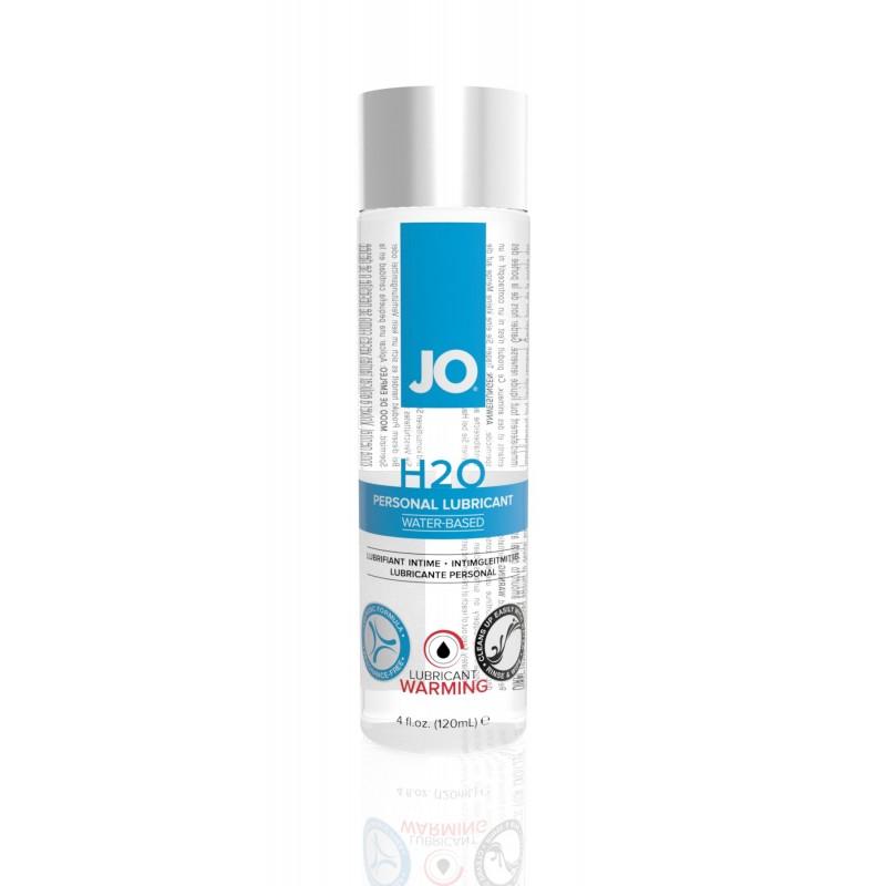 Согревающая смазка на водной основе System JO H2O WARMING (120мл) с экстрактом перечной мяты