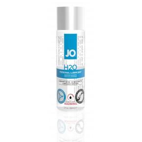 Согревающая смазка на водной основе System JO H2O WARMING (60мл) с экстрактом  перечной мяты