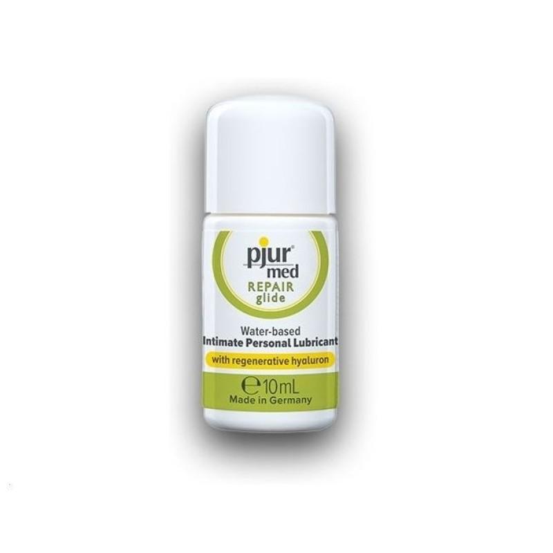 Лубрикант на водной основе Pjur MED Repair glide 10 мл с регенерирующим гиалуроном для сухой кожи