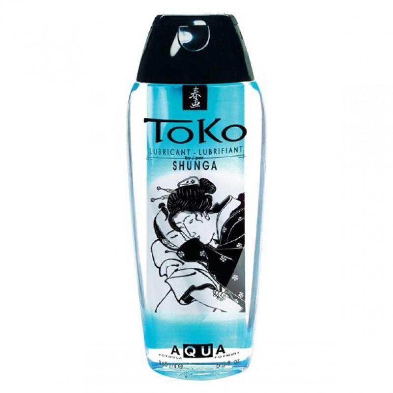 Лубрикант на водной основе Shunga Toko AQUA (165 мл) подходит для ежедневного использования
