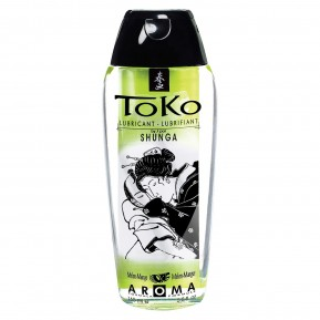 Лубрикант на водной основе Shunga Toko AROMA - Melon Mango (165 мл), не содержит сахара