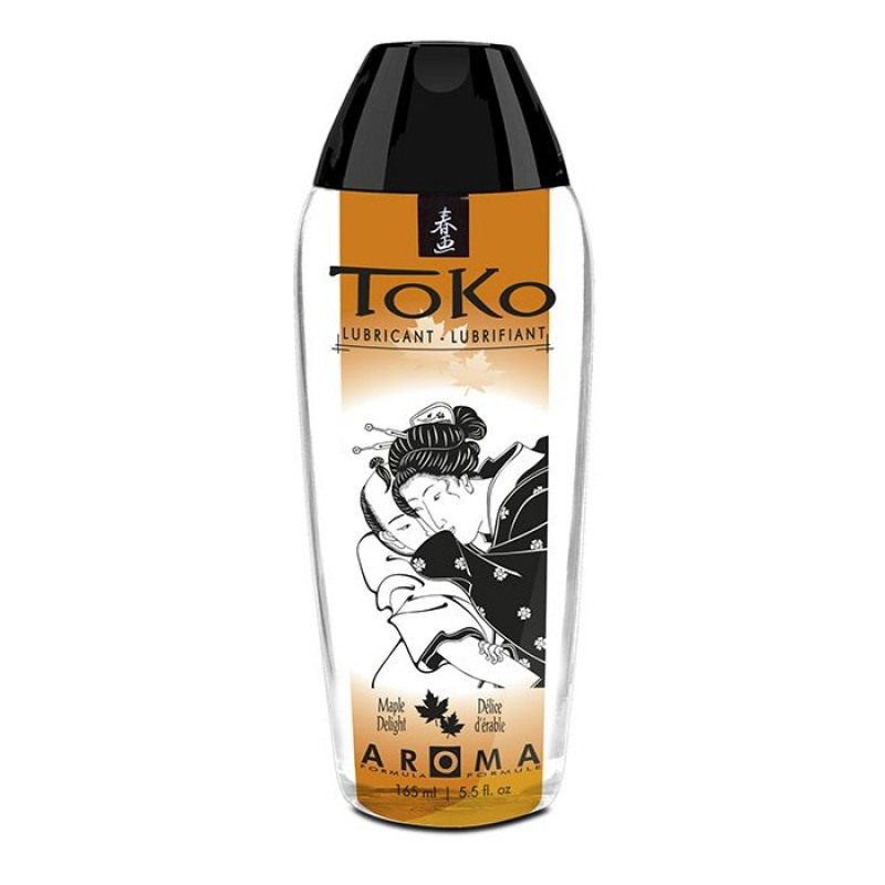 Лубрикант на водной основе Shunga Toko AROMA - Maple Delight (165 мл), не содержит сахара