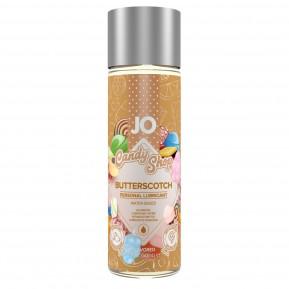 Лубрикант на водной основе System JO H2O - Candy Shop - Butterscotch (60 мл) без сахара и парабенов