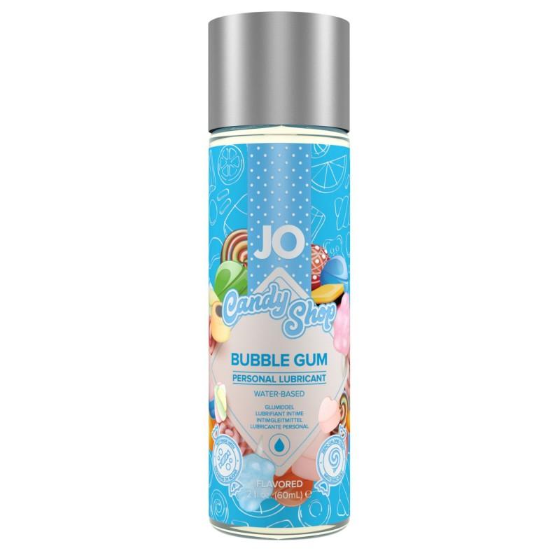 Лубрикант на водной основе System JO H2O - Candy Shop - Bubblegum (60 мл) без сахара и парабенов