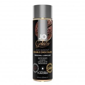 Смазка на водной основе System JO GELATO Double Chocolate (120 мл) без сахара, парабенов и гликоля