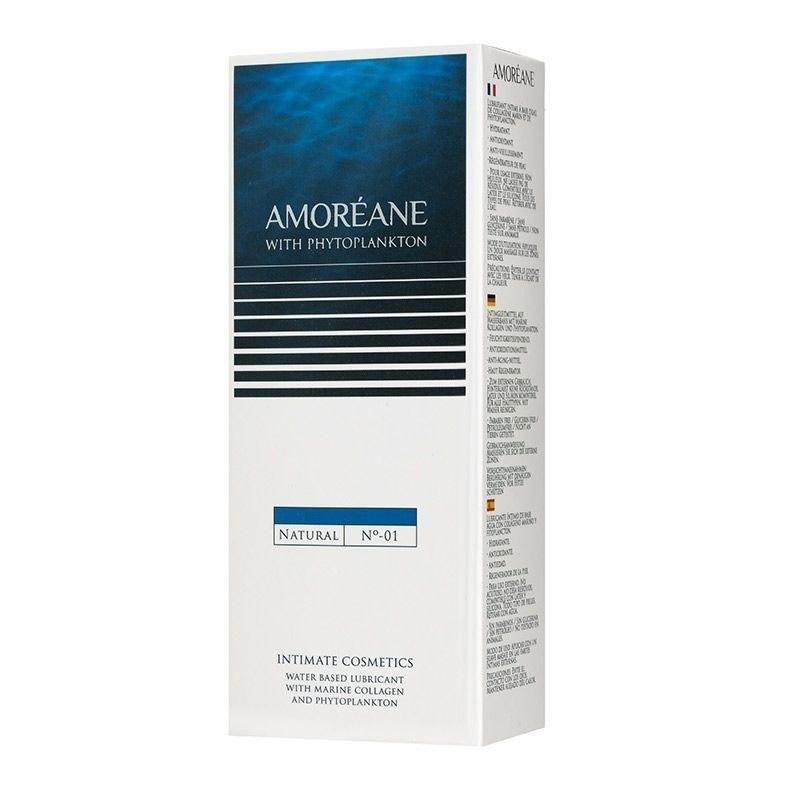 Лубрикант на водной основе с фитопланктоном Amoreane Natural (100 мл)