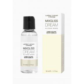 Лубрикант на силиконовой основе MixGliss DREAM - CAMELIA BLANC (50 мл) с ароматом белой камелии