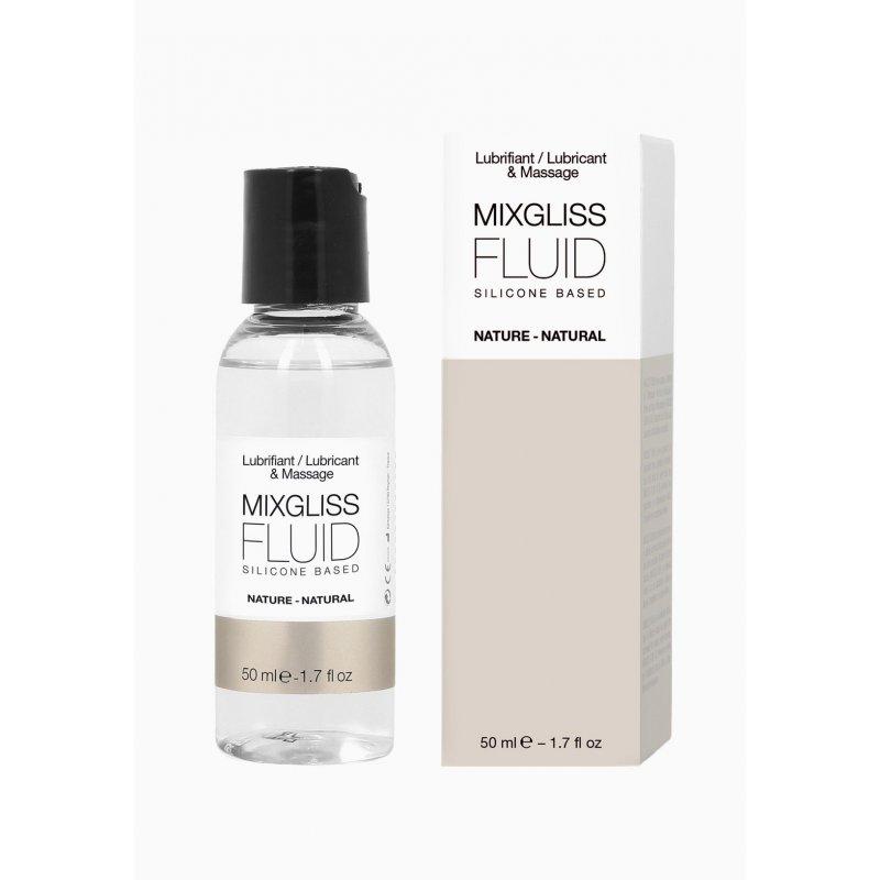 Лубрикант на силиконовой основе MixGliss FLUID NATURE (50 мл) без запаха