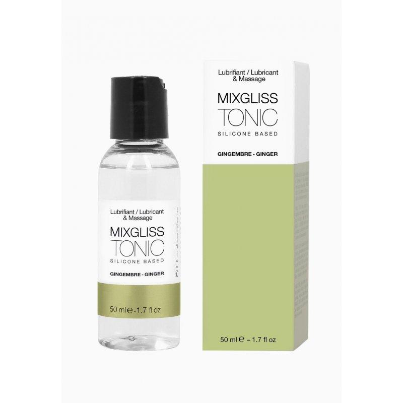 Лубрикант на силиконовой основе MixGliss TONIC - GINGEMBRE (50 мл) с ароматом имбиря