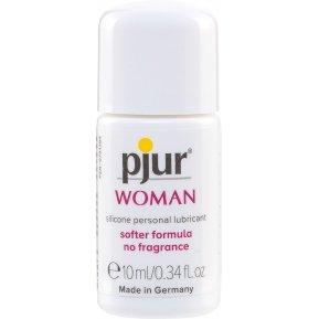 Смазка на силиконовой основе Pjur Woman 10 мл, без ароматизаторов и консервантов специально для нее