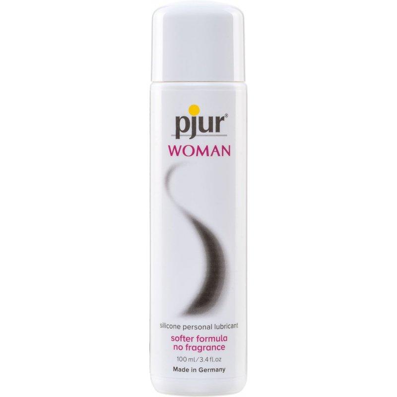 Смазка на силиконовой основе Pjur Woman 100 мл, без ароматизаторов и консервантов специально для нее