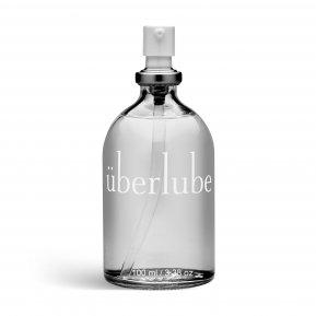 Премиум лубрикант 3-в-1 на силиконовой основе Uberlube (100 мл) для секса, ухода за телом и волосами